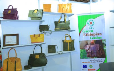 The newly formulated Green Ethiopian Leather (GEL) brand has promoted its products at AALF