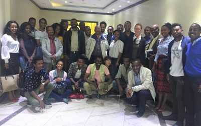 Meeting with international markets Textile and Leather Cluster in Addis Ababa