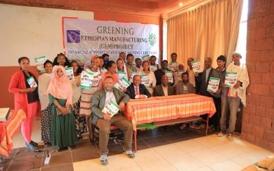 Financial support agreement signing event on 18 September 2020 in Lalibela