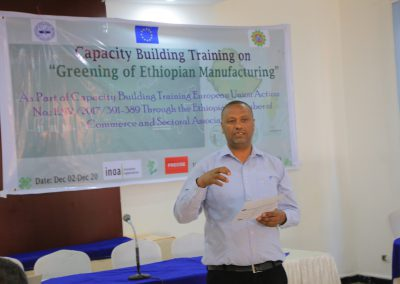 GEM Project Capacity building training on SCP practice and patterns is scheduled from December 2 to 30, 2019 1