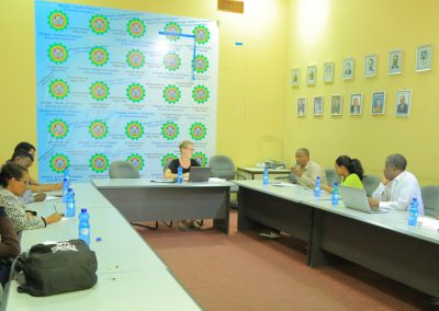 GEM Technical Team Held Meeting to Review Project Performance