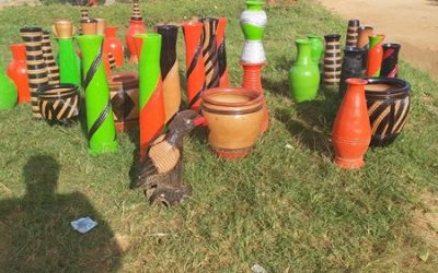 Villagers holding on to amazing art of pottery