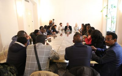 Visit to Green Fashion Week, Italy 22-26 January 2020